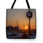 Take Time To Remember Seaside Park Nj Tote Bag