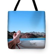 Takin It Easy Tote Bag