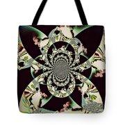Taking A Ride In Heaven Tote Bag
