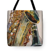 Taking A Shine To Each Other Tote Bag