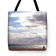 Taking A Walk Tote Bag