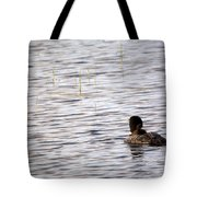 Taking Chick For Ride Tote Bag
