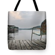 Sittin' On The Dock  Tote Bag