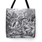 Taking Our Granddaughter Riding Tote Bag
