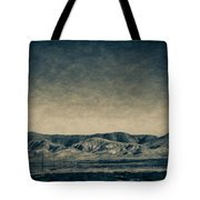 Taking The 5 Through Bakersfield, California Tote Bag