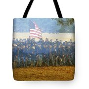 Taking The Field Tote Bag