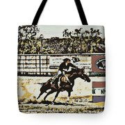Taking The Lead Tote Bag
