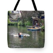 Taking The Oars Tote Bag