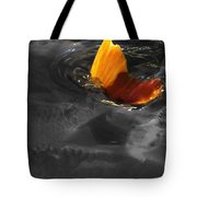 Tale Of The Wild Koi 3 Tote Bag