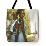 Tale Of Two Sister Tote Bag