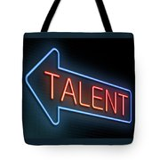 Talent Concept. Tote Bag