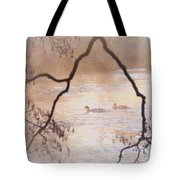 Tales From The Riverbank  Iv Tote Bag