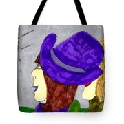 Talk Show Hide Out Tote Bag
