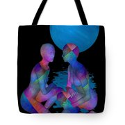 Talk To Me Tote Bag