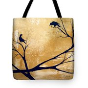 Talking A Lot Of Crow  Tote Bag