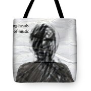 Talking Heads Fear Of Music  Tote Bag