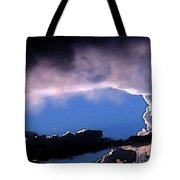 Talking To God Tote Bag by Methune Hively