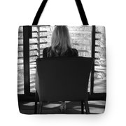 Talking To God Tote Bag