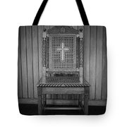 Talking To The Chair Tote Bag