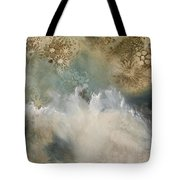 Talking With The Ocean Tote Bag