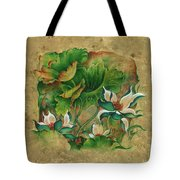 Talks About The Essence Of Life Tote Bag