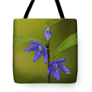 Tall Bellflower Tote Bag