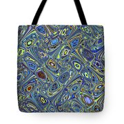 Tall Building In Phoenix Abstract Tote Bag