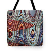 Tall Building Showing Colors Tote Bag