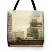 Tall Buildings Tote Bag