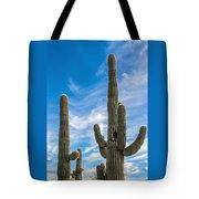 Tall Cacti Tote Bag