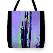 Tall Cactus Stand Tote Bag