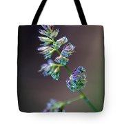 Tall Grass Stem Close-up Tote Bag