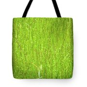 Tall Grassy Meadow Tote Bag