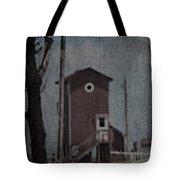 Tall Little Stilt House 3 Tote Bag