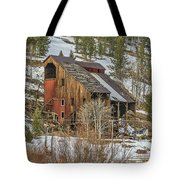 Tall Old Building Tote Bag