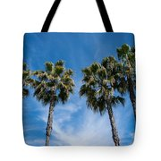 Tall Palms Couples Tote Bag