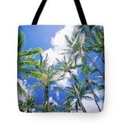 Tall Palms Tote Bag