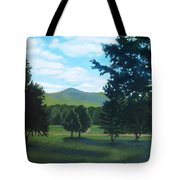 Tall Pines Surround Your Green Hills Tote Bag