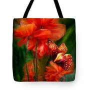 Tall Poppies Tote Bag