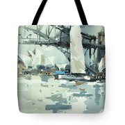 Tall Sails In Sydney Tote Bag