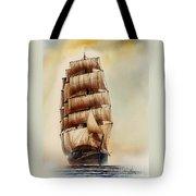Tall Ship Carradale Tote Bag