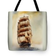 Tall Ship Carradale Tote Bag