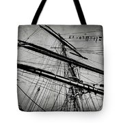 Tall Ship Mast V3 Tote Bag