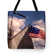 Tall Ship Sails 8 Tote Bag