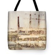 Tall Ship Tote Bag
