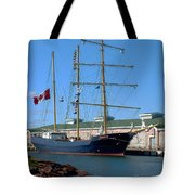 Tall Ship Waiting Tote Bag