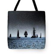 Tall Ships Halifax 2017 - Parade Of Sail Tote Bag
