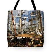 Tall Ships Heritage Landing Tote Bag