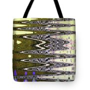 Tall Tempe Building Abstract Tote Bag