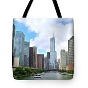 Tall Towers In Chicago Tote Bag